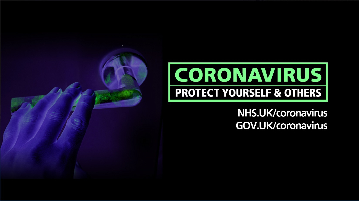 Coronavirus Southend website banner