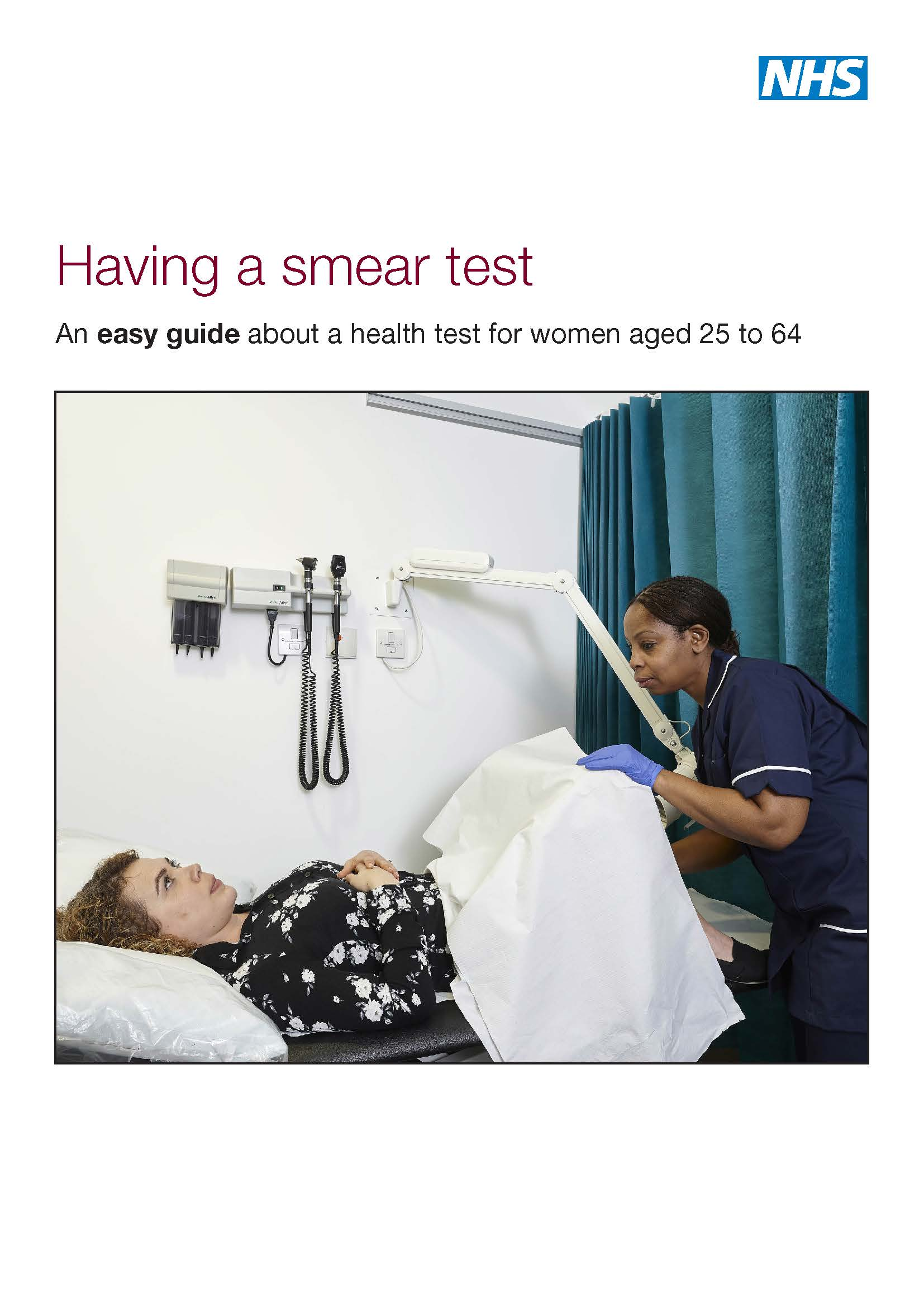 Easy read guide to cervical smear tests