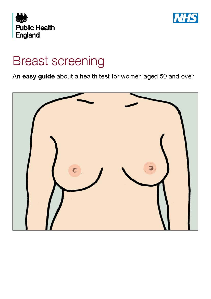 Guide to breast screening easy read